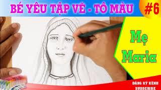 Vẽ tranh Đức Mẹ Maria
