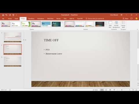 Insert A Word Document Into PowerPoint By Chris Menard