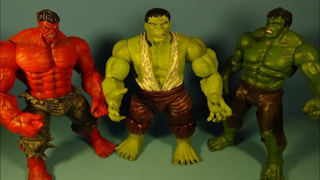 Marvel Select Savage Hulk Action Figure
