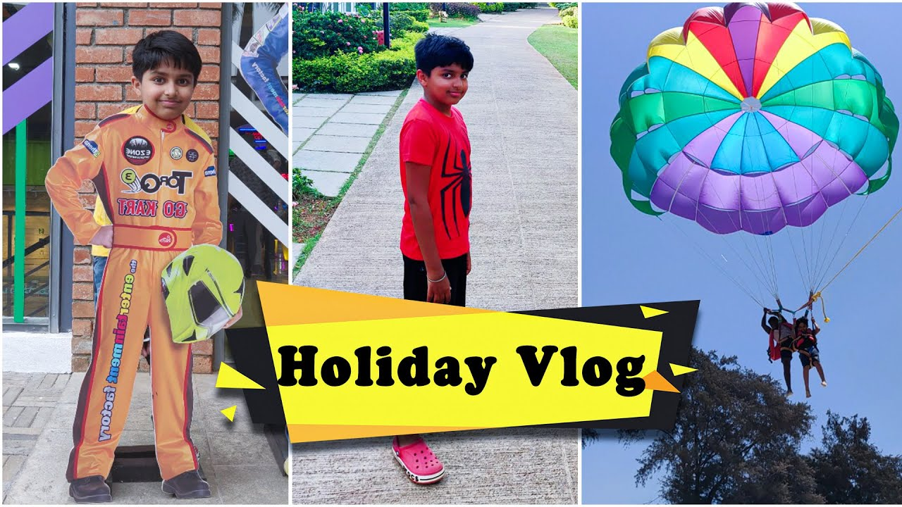 First Family Vacation 2021 - Bengaluru & Goa | Go Karting | Hotel Tour | Water Sports | Holiday Vlog