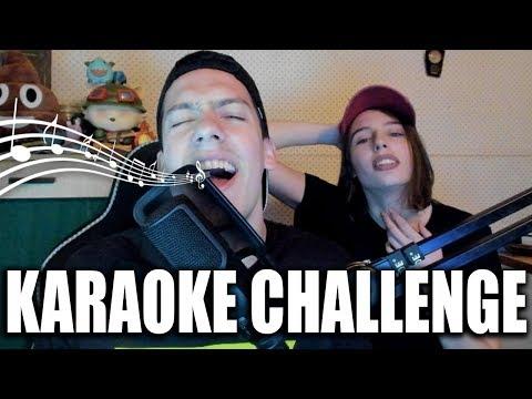 KARAOKE CHALLENGE /w Petra