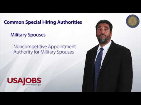 What are Special Hiring Authorities?