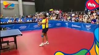 Revive el último set de Adriana Díaz  Oro individual en el Tenis de Mesa Femenino, Barranquilla 2018