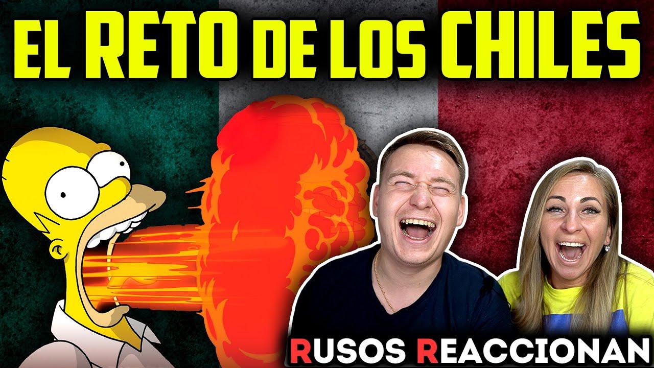 🇲🇽 RETO a MEXICANO a COMER CHILES 🌶 | 🇷🇺RUSOS REACCIONAN a PROBANDO CHILE en MÉXICO