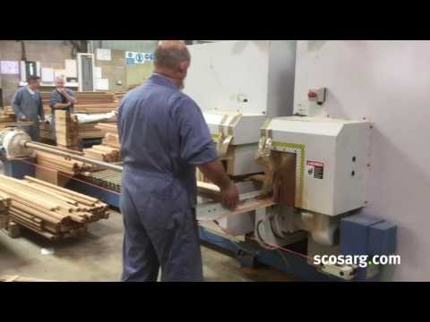 2012 E-Chain ECT Double End Tenoner For Sale | Scott+Sargeant Woodworking Machinery