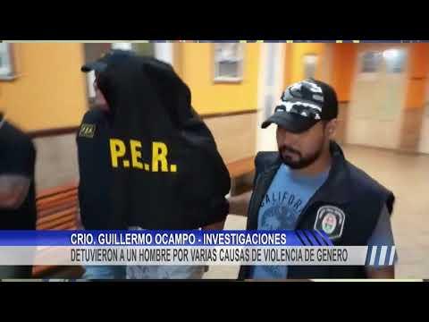 Un hombre fue detenido por varias causas de violencia de genero