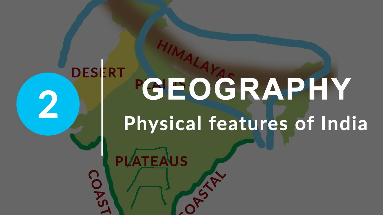 Physical Features of India - Chapter 2 Geography NCERT Class 9