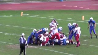 bellport football 2015 lb 52 tobias lewis