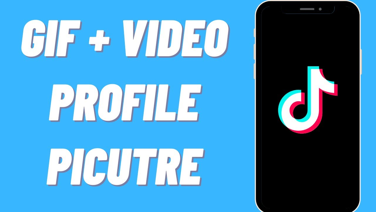 How To Use Any Gif Or Video As Your Tiktok Profile Picture Youtube