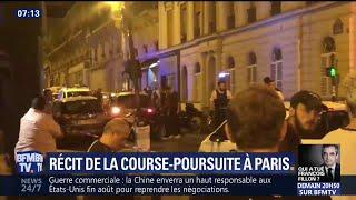 A Paris, une course poursuite avec la police coûte la vie à un jeune homme