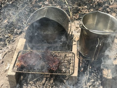 Lunch and the Base Camp Cookset