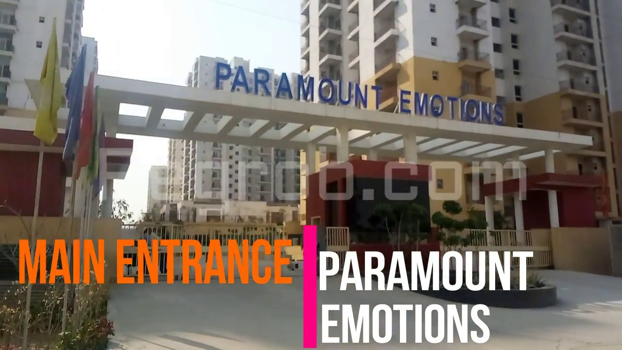 Paramount Emotions Noida Ext Actual Video Feb 2018 7861008808