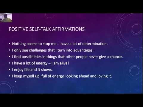 List of Positive Self Talk Affirmations