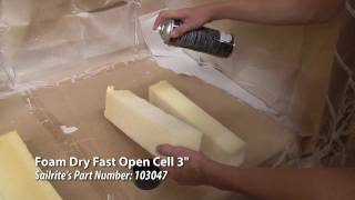 Gluing Test for Dry Fast / Open Cell Foam