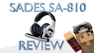 Sades SA-810 Gaming Headset Unboxing and Review