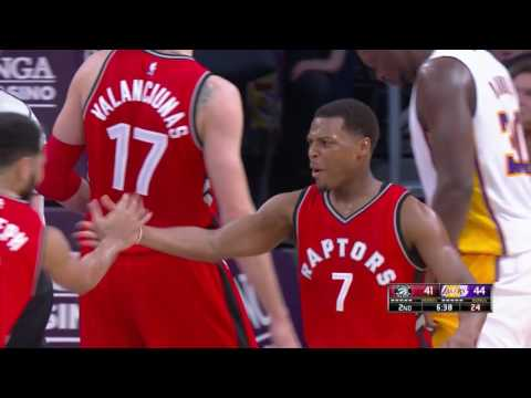 Kyle Lowry Drops 41 on the Lakers! | 01.01.17