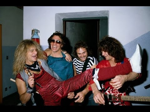 INTERVIEW with van halen 1981 E.T.