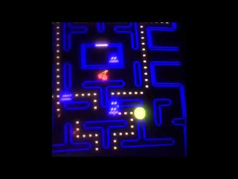 Pixels game on music video Pac-Man!