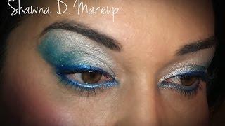Frozen eyeshadow tutorial Thumbnail