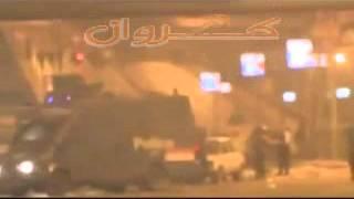 مذبحة المنصة لحظة الهجوم على اعتصام رابعه العدوية وقتل المتظاهرين 27\7\2013