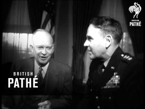 Ike Meets General Taylor (1954)