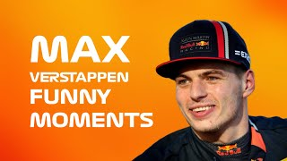 Max Verstappen - Funny Moments