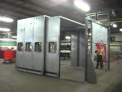 NOISE-TAMER AUTOMATED TELESCOPING DOORS BY TAMER INDUSTRIES (OPEN) & NOISE-TAMER AUTOMATED TELESCOPING DOORS BY TAMER INDUSTRIES (OPEN ... pezcame.com