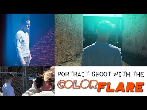 Portrait Shoot with the ColorFlare Adapter: Organic In-camera Light Leak and Flare Effect