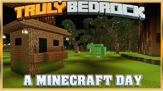 Truly Bedrock S1E55 A Minecraft Day | Minecraft Bedrock Edition SMP, MCPE, MCBE