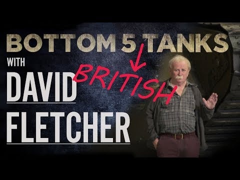 Top Five Tanks – David Fletcher | The Tank Museum