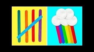 17 divertidas manualidades educativas para niños pequeños