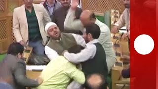 India Lawmakers Kick And Punch Collegue Who Served Beef At Party