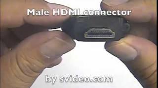 Calrad 35-712A Female DVI to Male HDMI Adapter