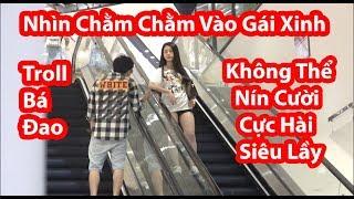 Troll Nhìn Chằm Chằm Vào Gái Xinh- HuyLê & HayzoTV- (STARRING PRANK)