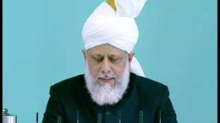 Friday Sermon : 2nd October 2009 - Part 6 (Urdu)