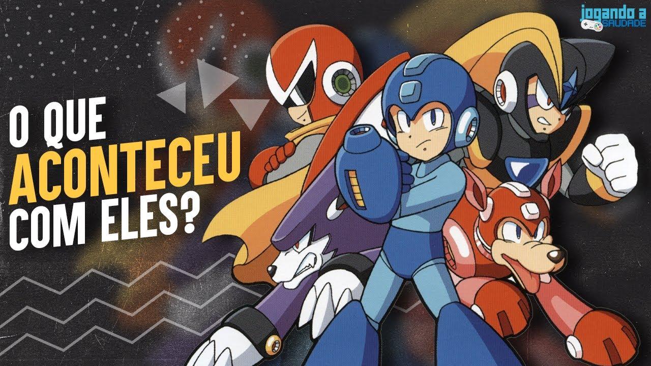 O QUE ACONTECEU COM MEGA MAN CLÁSSICO? A resposta da Capcom!