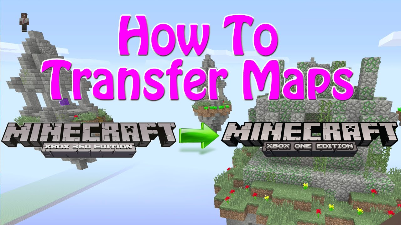 Minecraft Xbox One | How To Transfer Maps From Xbox 360 to Xbox One