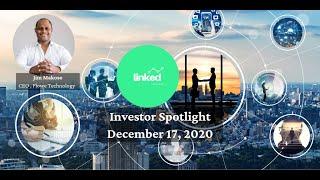 Jim Makoso, CEO Flowe Technology at Linked Ventures Investor Spotlight December 17, 2020