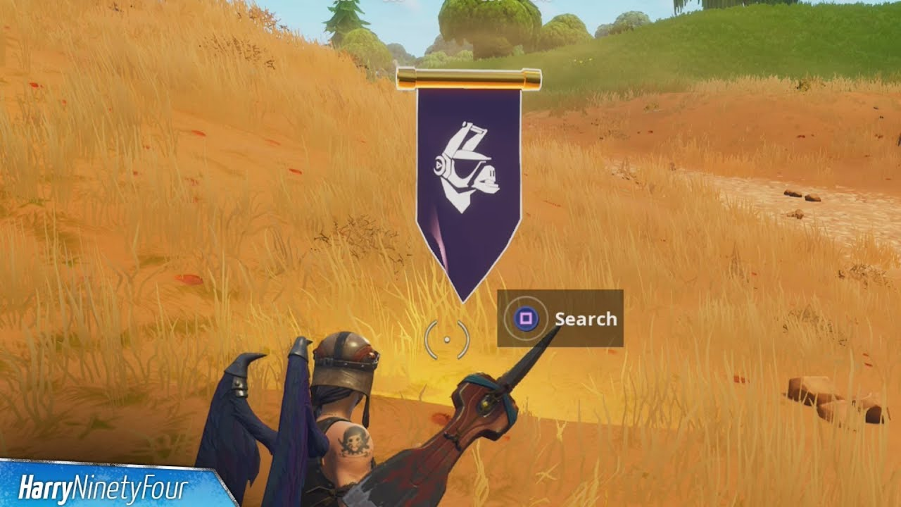 Secret Season 6 Week 10 Banner Location Guide Hunting Party
