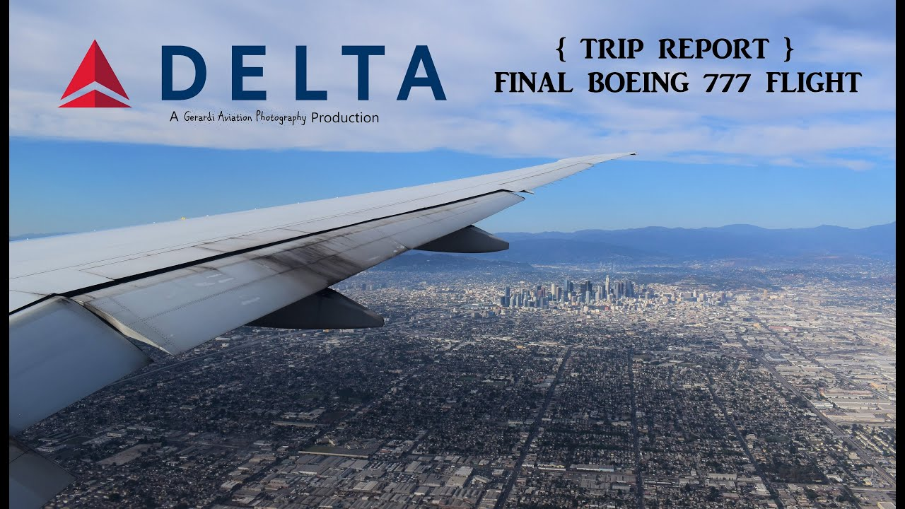Trip Report Delta S Final 777 Passenger Flight Airlinegeeks Com