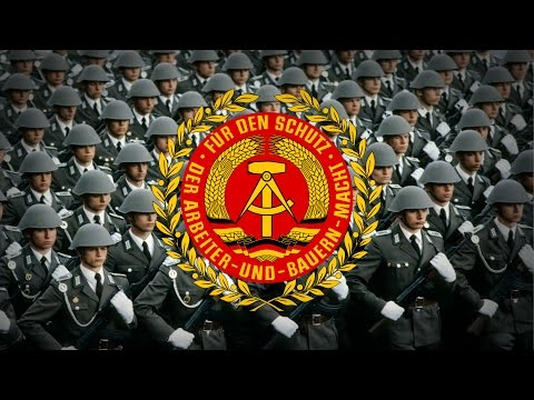 "German Democratic Republic (1949-1990) Military March ""Unterwegs, Soldaten, marsch!"""