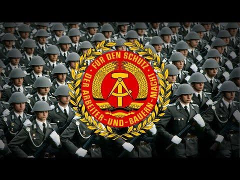 "German Democratic Republic (1949-1990) Military March ""Unterwegs, Soldaten, marsch!"""