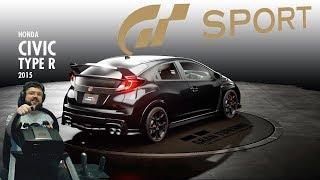 VTEC снова в деле! Honda Civic Type-R и крутые испытания в Gran Turismo: Sport