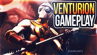 Fortnite - *NEW* VENTURION SKIN GAMEPLAY! [Fortnite Battle Royale]