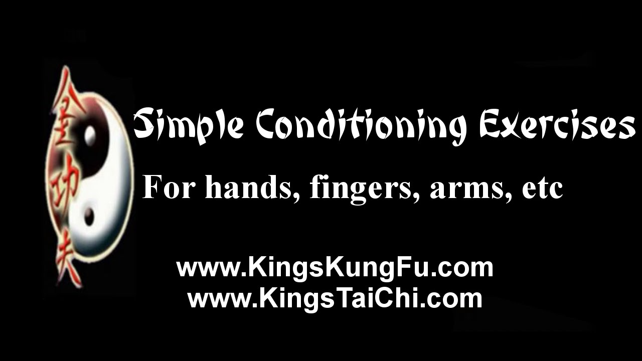 ab5762873 Simple Conditioning Exercises for hands, fingers, arms, etc., King's Kung Fu  / www.KingsKungFu.com. Richard Mieir