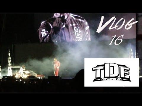 Seeing Kendrick Lamar & TDE In Concert | TDE Championship Tour | Vlog 16
