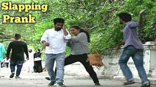 Slapping People Funny Prank | Prank Buzz in India 2017