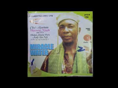 Chief Akunwata Ozoemena Nsugbe - Miracle Water - FULL ALBUM - Egwu Ekpili Igbo
