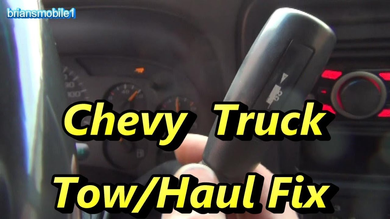 hight resolution of chevy gmc tow haul fix