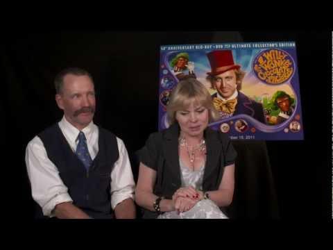 Willy Wonka  2011 With Peter Ostrum Charlie & Julie Dawn Cole Veruca